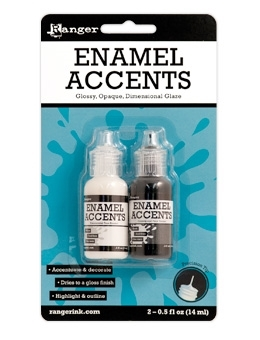 Ranger ENAMEL ACCENTS Dimensional Glaze Inkssentials GAC27355 zoom image