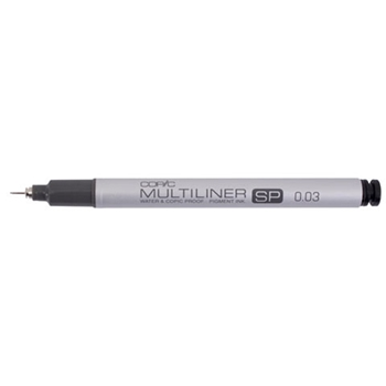 Copic Multiliner SP 0.03 BLACK Ink Marker