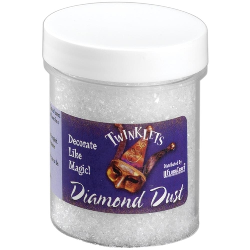 Twinklets DIAMOND DUST Fine Art Glitter 3 Ounce Jar Preview Image
