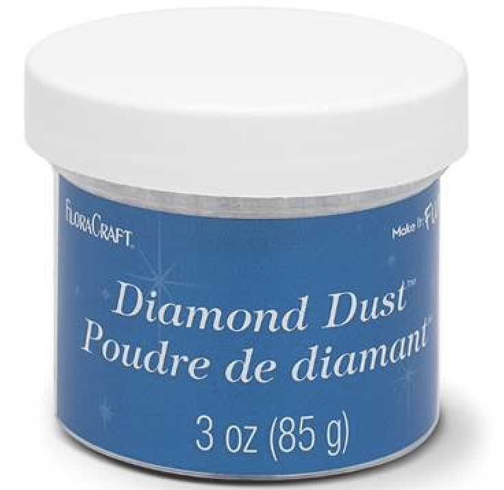 Twinklets DIAMOND DUST Fine Art Glitter 3 Ounce Jar zoom image