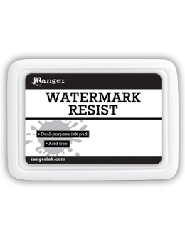 Ranger Inkssentials WATERMARK RESIST INK PAD Embossing RRP10999