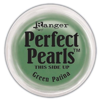 Ranger Perfect Pearls GREEN PATINA Powder PPP21889