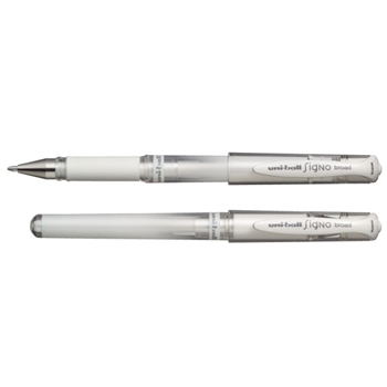 Uniball Wht Gel Pen
