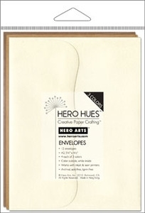 Hero Arts MIXED ENVELOPES EARTH Brown Neutrals ps618 Preview Image