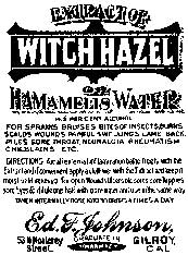 Tim Holtz Rubber Stamp WITCH HAZEL M3-1565 * Preview Image