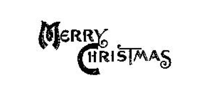 Tim Holtz Rubber Stamp MINI CHRISTMAS Merry J5-1571 Stampers Anonymous zoom image