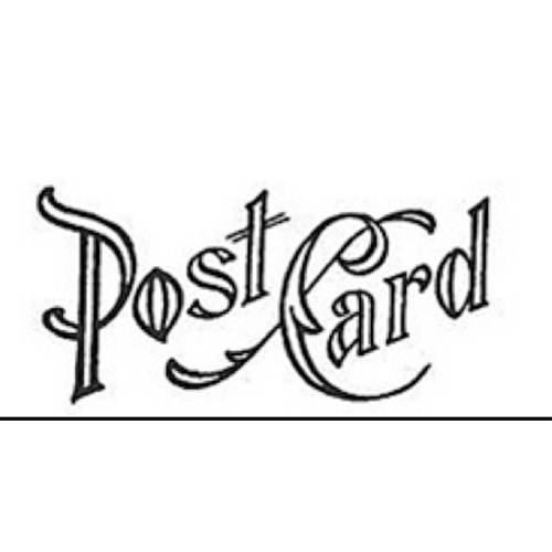 Tim Holtz Rubber Stamp POSTAGE 8 Eight E2-1591 Post Card Stampers Anonymous Preview Image