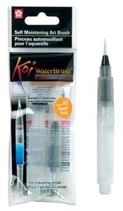 Sakura KOI SMALL WATERBRUSH Water Brush Watercolor #2 XQR-S zoom image
