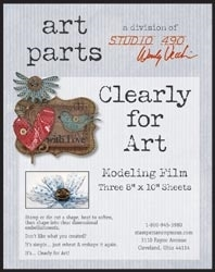 Wendy Vecchi Modeling Film CLEAR CLEARLY FOR ART Parts Studio 490 WVCLR