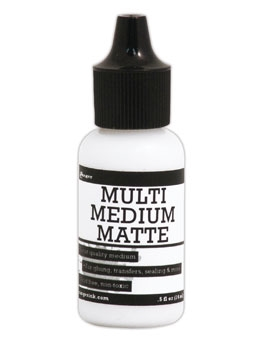 Ranger .5 Oz. MINI MULTI MEDIUM MATTE Glue INK41511