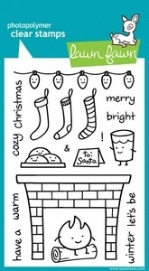 Lawn Fawn COZY CHRISTMAS Clear Stamps