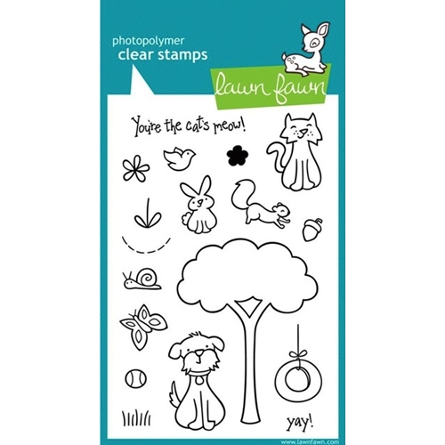 Lawn Fawn CRITTERS IN THE 'BURBS Clear Stamps Preview Image
