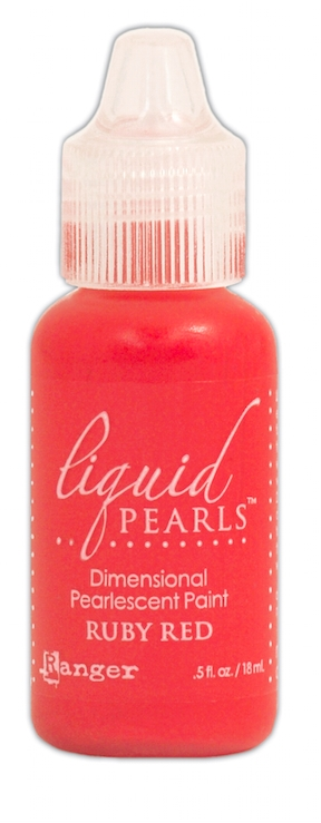 Ranger RUBY RED Liquid Pearls Pearlescent Paint LPL02048 zoom image