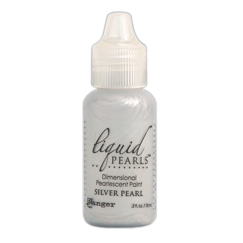 Ranger SILVER PEARL Liquid Pearls Pearlescent Paint LPL02055 Preview Image