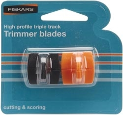 Fiskars Triple Track CUTTING & SCORING i1555 Trimmer Blades 00706