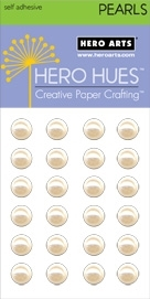 Hero Arts 24 Count 7mm LARGE ANTIQUE PEARLS CH252* zoom image