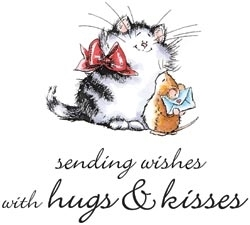 Penny Black Cling Stamps PURR-FECT MESSAGE Rubber Unmounted 40 040 Preview Image