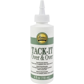 Aleene's TACK IT OVER & OVER Adhesive