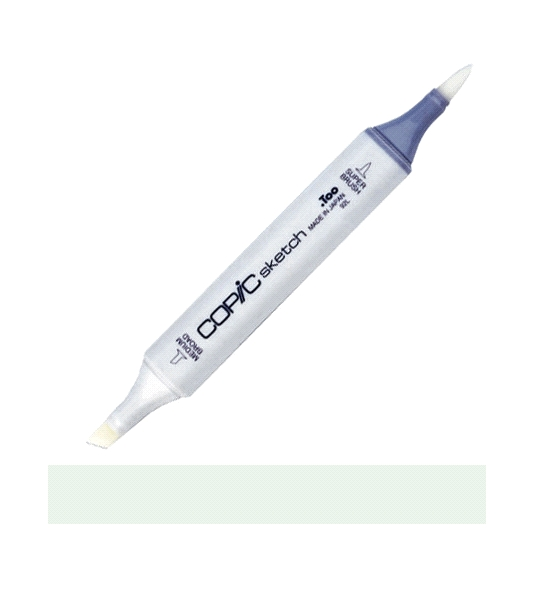 Copic Sketch Marker BG70 OCEAN MIST Blue Green zoom image