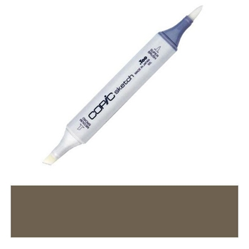 Copic Sketch Marker E87 FIG Brown