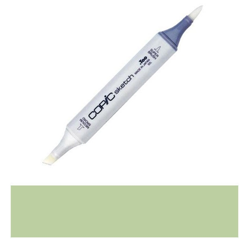 Copic Sketch Marker YG61 PALE MOSS Light Green Preview Image