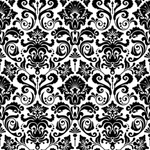 Impression Obsession Cling Stamp DAMASK cc081 Preview Image