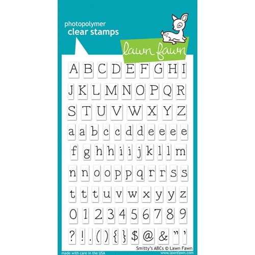 Lawn Fawn SMITTY'S ABCs Clear Stamps Preview Image