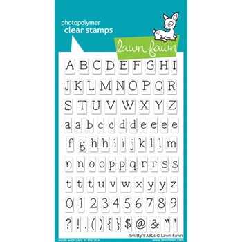 Lawn Fawn SMITTY'S ABCs Clear Stamps