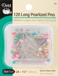 Dritz 120 LONG PEARLIZED PINS 103342* Preview Image