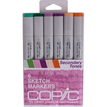 Copic Sketch SECONDARY TONES Markers Kit