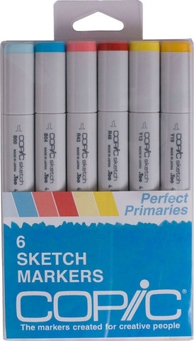 Copic Sketch PERFECT PRIMARIES Markers Kit Preview Image