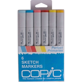 Copic Sketch PERFECT PRIMARIES Markers Kit