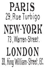 Tim Holtz Rubber Stamp PARIS NEW YORK LONDON Stampers Anonymous j1-1671* Preview Image