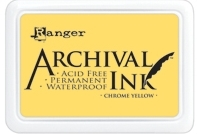 Ranger Archival Ink Pad CHROME YELLOW AIP30591