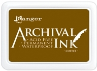 Ranger Archival Ink Pad COFFEE AIP31451 Preview Image