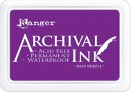 Ranger Archival Ink Pad DEEP PURPLE AIP30430