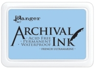 Ranger Archival Ink Pad FRENCH ULTRAMARINE AIP30607