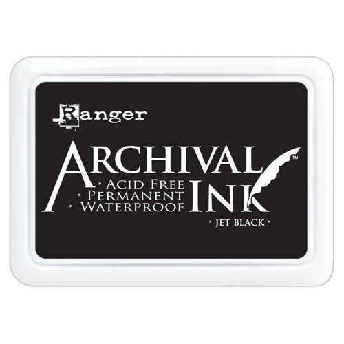 Ranger Archival Ink Pad JET BLACK AIP31468 Preview Image