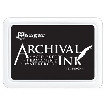 Ranger Archival Ink Pad JET BLACK AIP31468