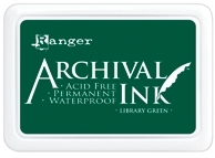 Ranger Archival Ink Pad LIBRARY GREEN AIP31475 Preview Image