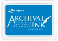 Ranger Archival Ink Pad MANGANESE BLUE AIP30454 zoom image