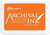 Ranger Archival Ink Pad MONARCH ORANGE AIP31239 Preview Image