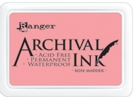 Ranger Archival Ink Pad ROSE MADDER AIP30638