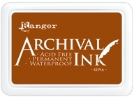 Ranger Archival Ink Pad SEPIA AIP31505 Preview Image