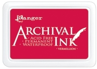 Ranger Archival Ink Pad VERMILLION AIP30461