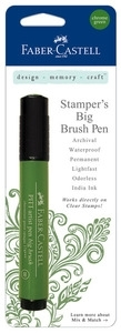 Faber-Castell CHROME GREEN Stampers Big Brush Pens 770006 Preview Image