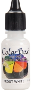 Clearsnap Colorbox FROST WHITE REFILL Pigment Ink 140802 zoom image
