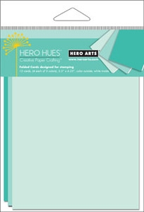Hero Arts MIX NOTECARDS POOL PS639 Blue Preview Image