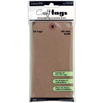Ranger KRAFT TAG #8 Inkssentials Surfaces 6.25 X 3.125 ISC31864