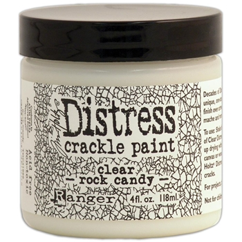 Tim Holtz 4 Oz ROCK CANDY Distress Crackle Paint Ranger TDC31888